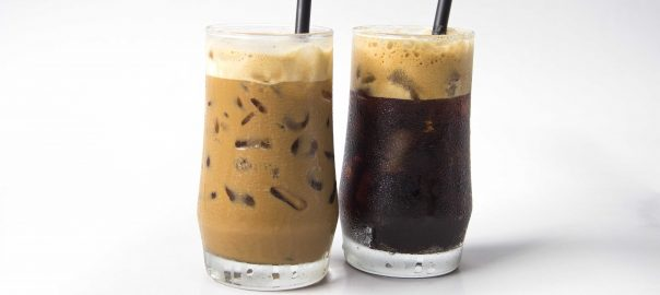 coffee, coffee nha trang, vietnamese iced black coffee, vietnamese iced white coffee